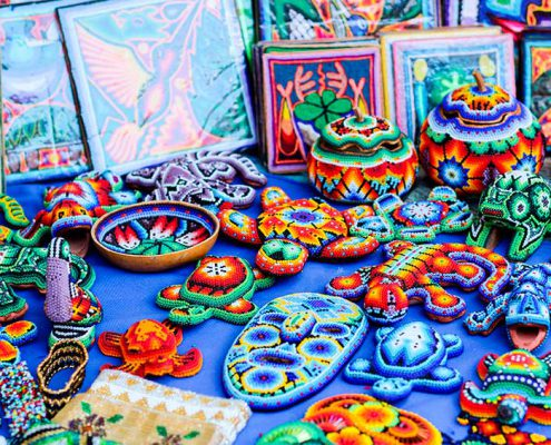 Huichol chaquira bead work