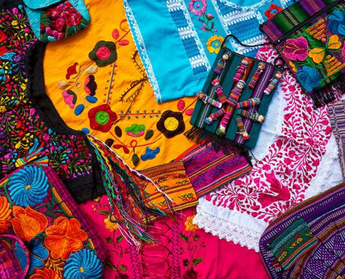 Embroidery from Chiapas