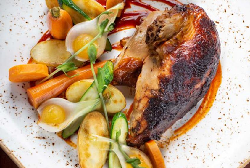 Chicken Mandarin Sauce